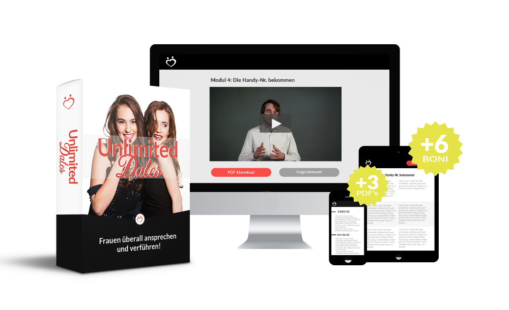 Der Unlimited Dates Online-Kurs