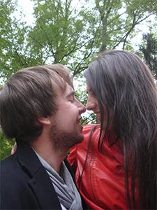 Andreas beim Date mit Frau