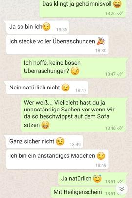 flirten whatsapp mit mann beispiele