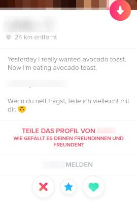 Gute online-dating-profile für frauen