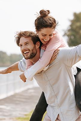 Zwei verliebt test in männer Verliebt in