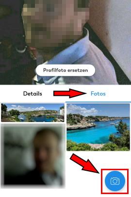 Geht ändern nicht lovoo bei profilbild Profilbild bei