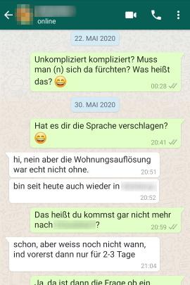 Nicht whatsapp online aber gelesen WhatsApp Nachricht