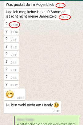 flirten whatsapp)