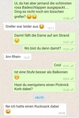 Flirten whatsapp